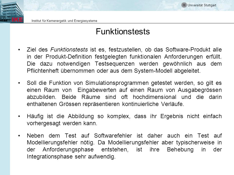 Funktionstests