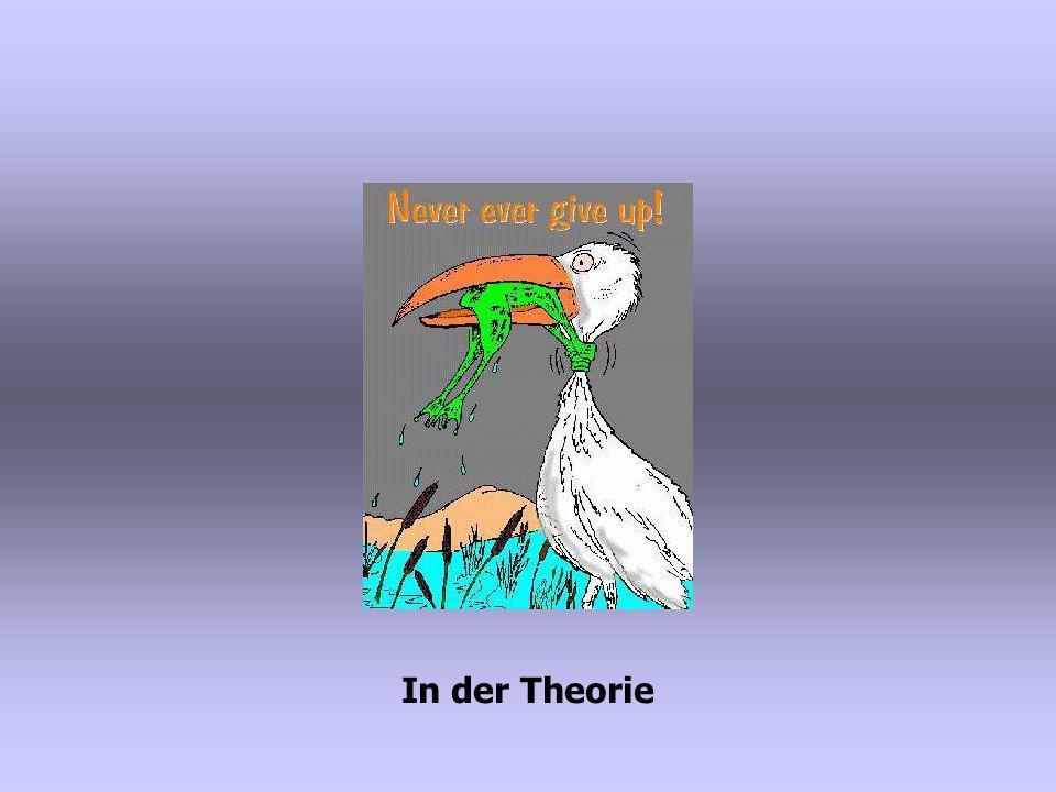 In der Theorie