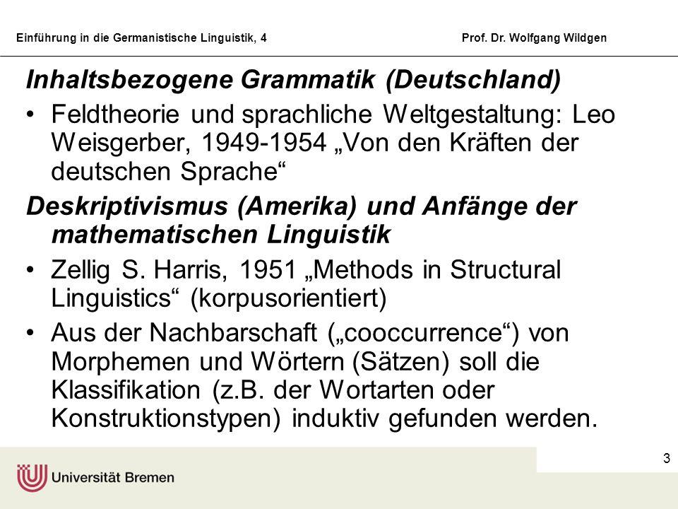Inhaltsbezogene Grammatik (Deutschland)