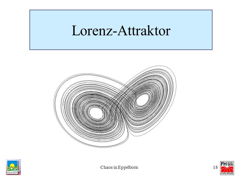 Lorenz-Attraktor Chaos in Eppelborn