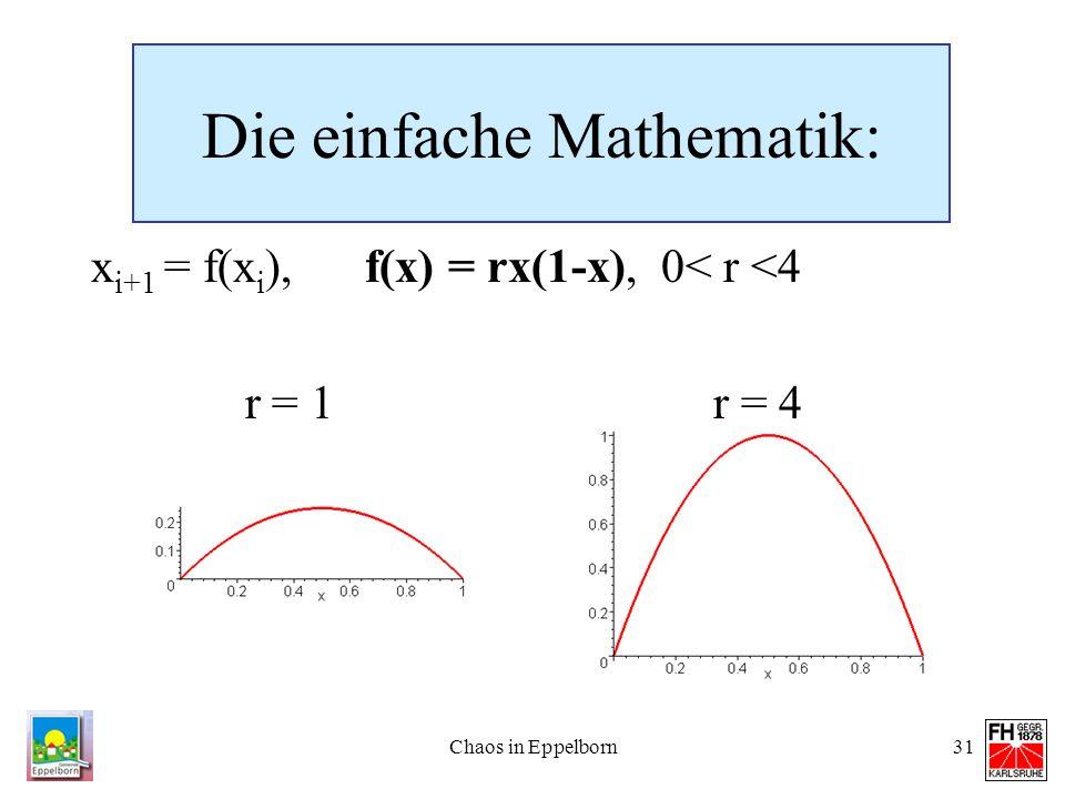 Die einfache Mathematik: