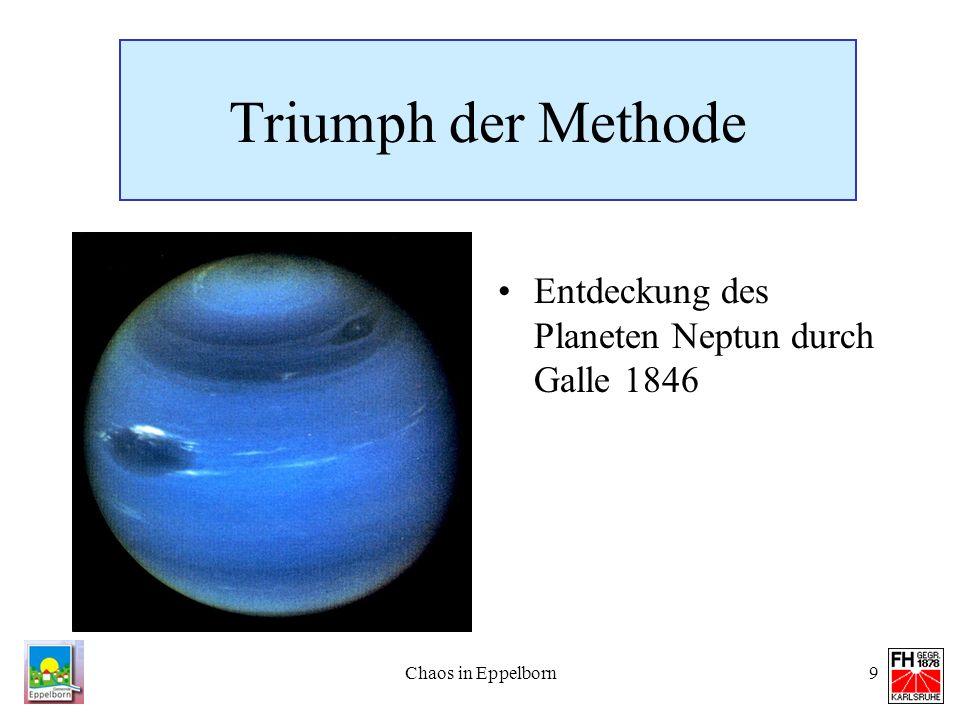 Triumph der Methode Entdeckung des Planeten Neptun durch Galle 1846