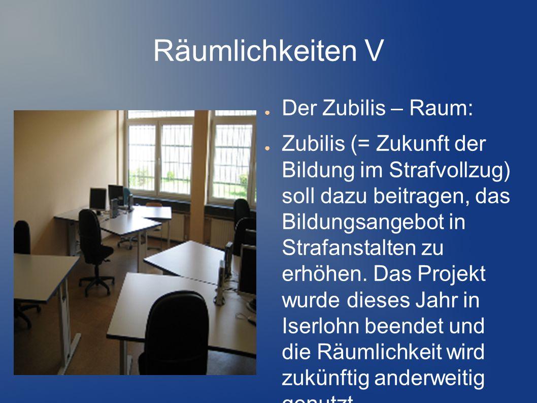 Räumlichkeiten V Der Zubilis – Raum: