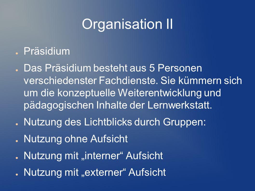 Organisation II Präsidium