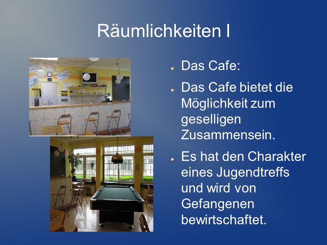 Räumlichkeiten I Das Cafe: