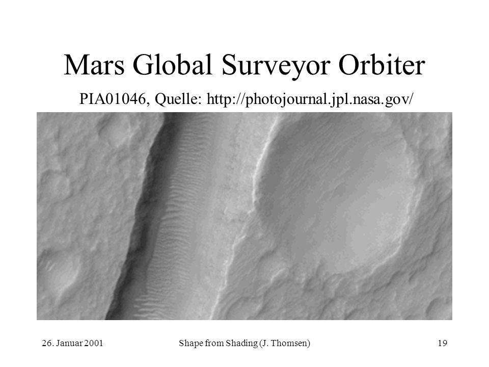 Mars Global Surveyor Orbiter