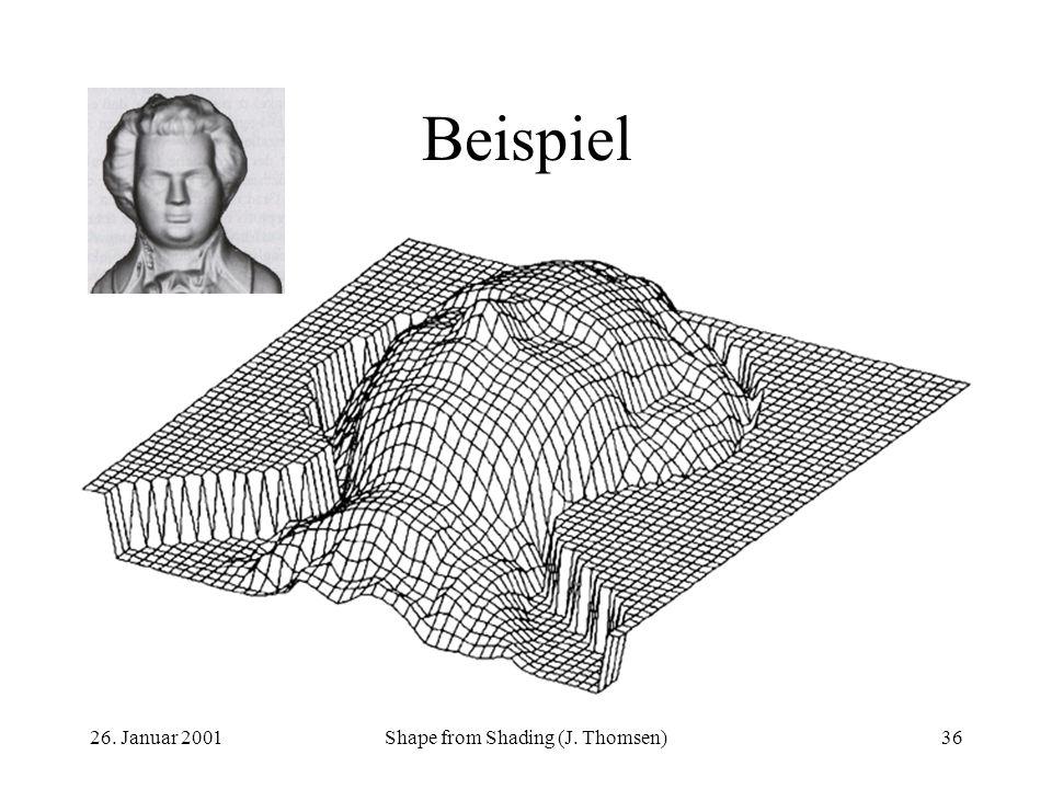 Shape from Shading (J. Thomsen)