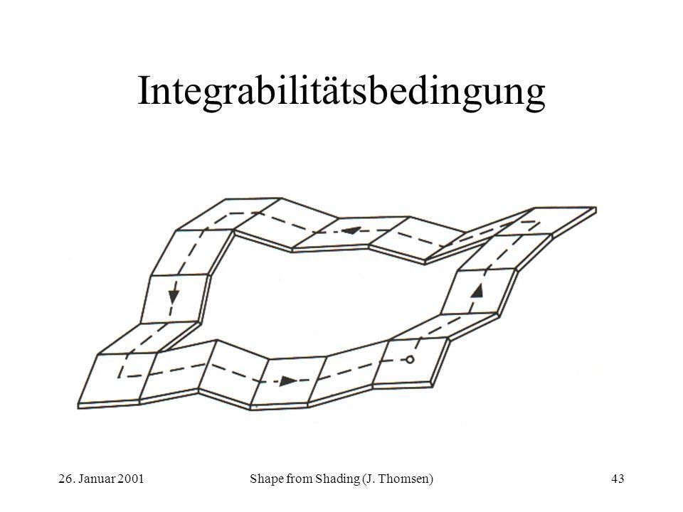 Integrabilitätsbedingung