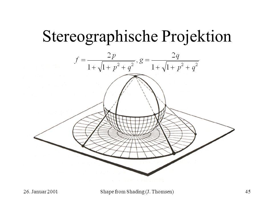 Stereographische Projektion
