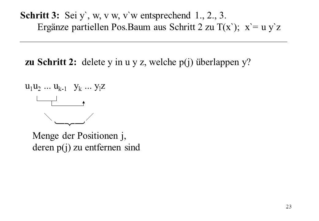 Schritt 3: Sei y`, w, v w, v`w entsprechend 1., 2., 3.