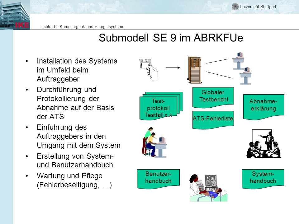 Submodell SE 9 im ABRKFUe
