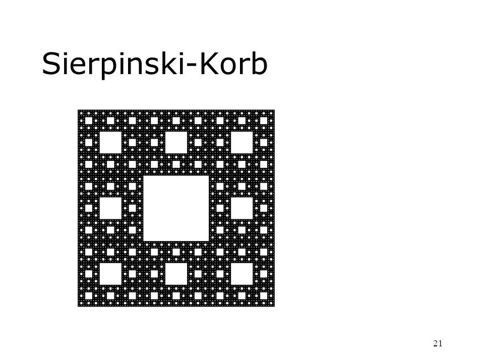 Sierpinski-Korb