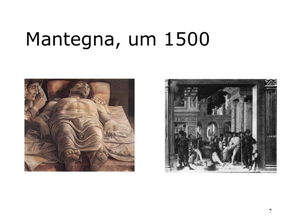 Mantegna, um 1500