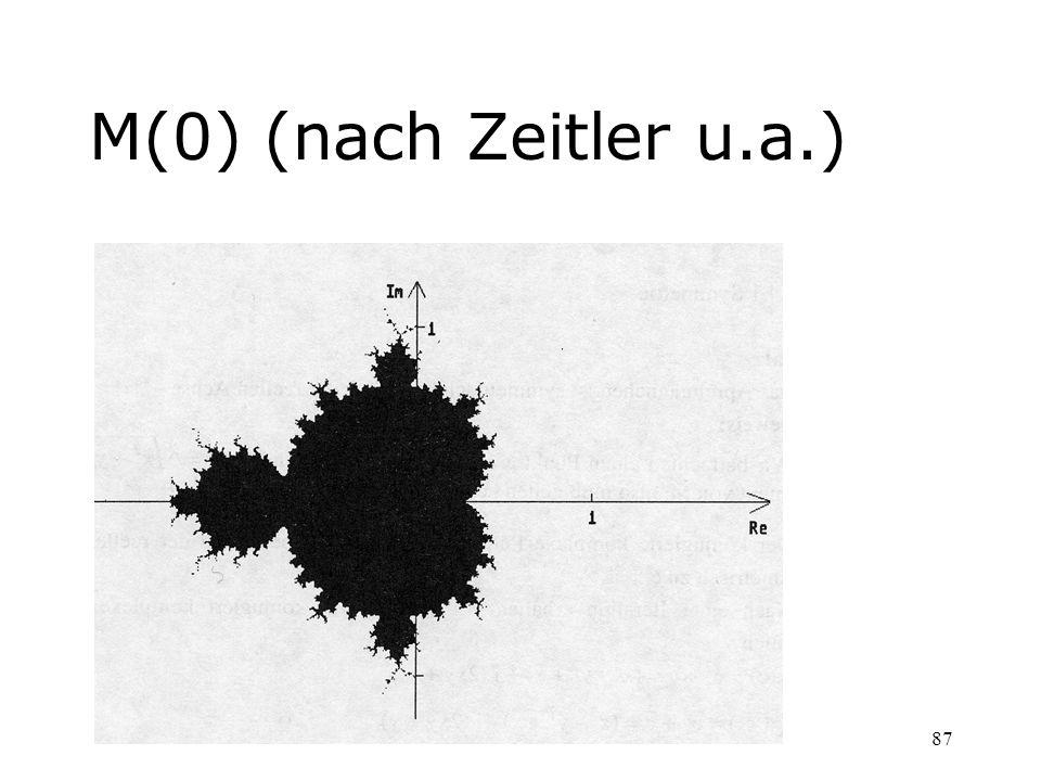 M(0) (nach Zeitler u.a.)