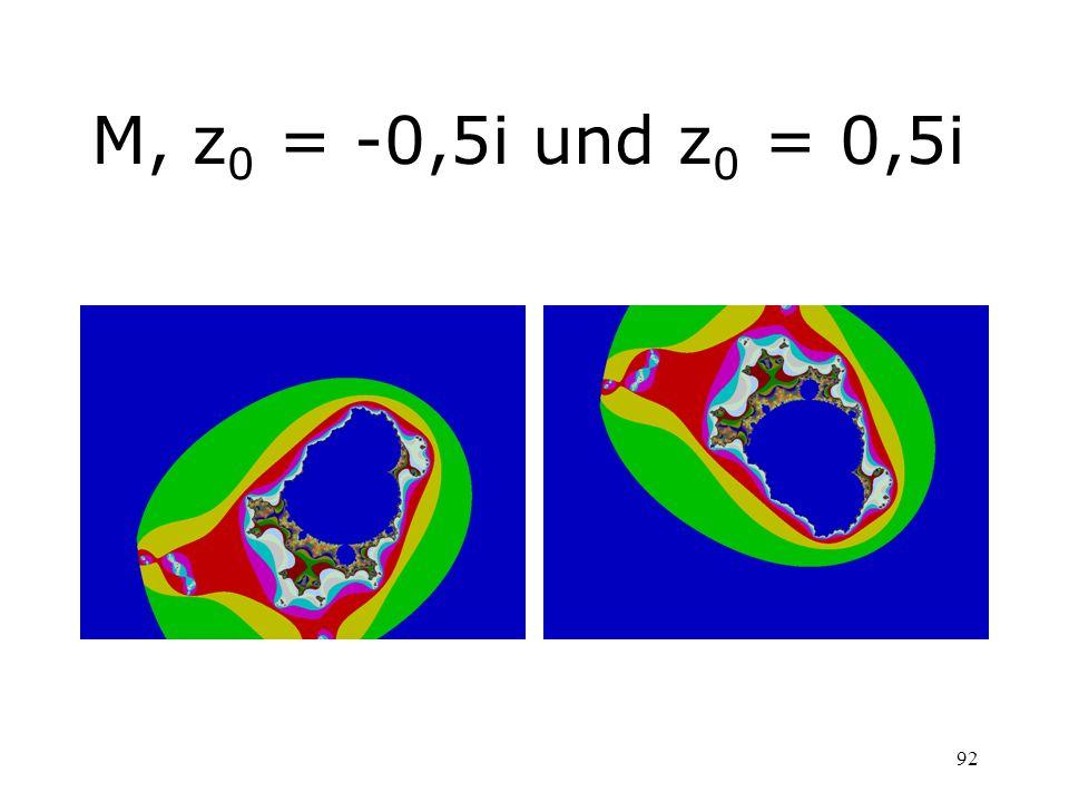 M, z0 = -0,5i und z0 = 0,5i
