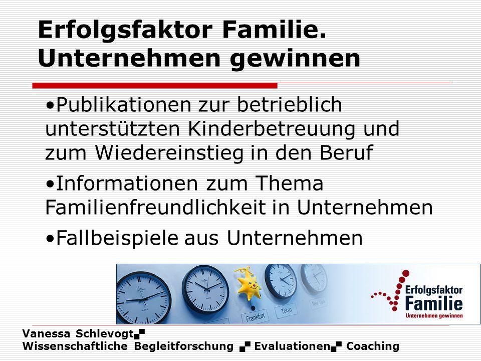 Erfolgsfaktor Familie. Unternehmen gewinnen