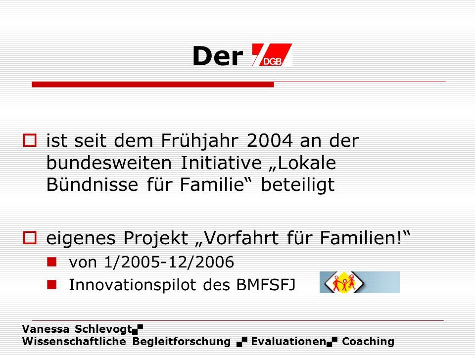 """Der ist seit dem Frühjahr 2004 an der bundesweiten Initiative """"Lokale Bündnisse für Familie beteiligt."""