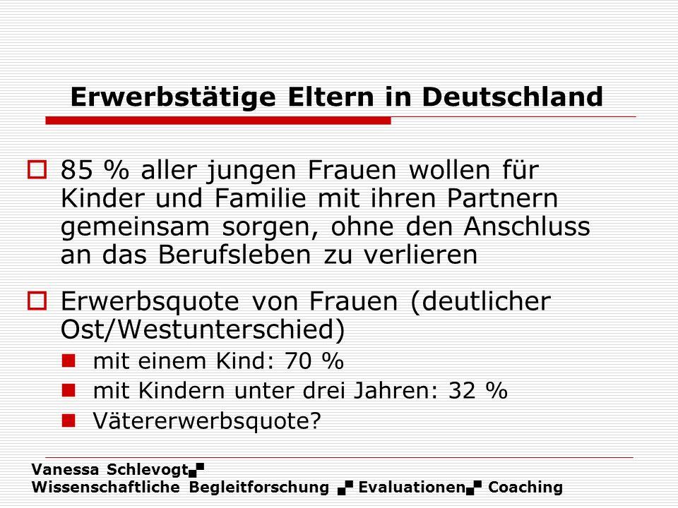Erwerbstätige Eltern in Deutschland
