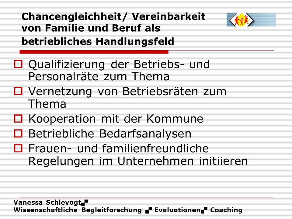 Qualifizierung der Betriebs- und Personalräte zum Thema