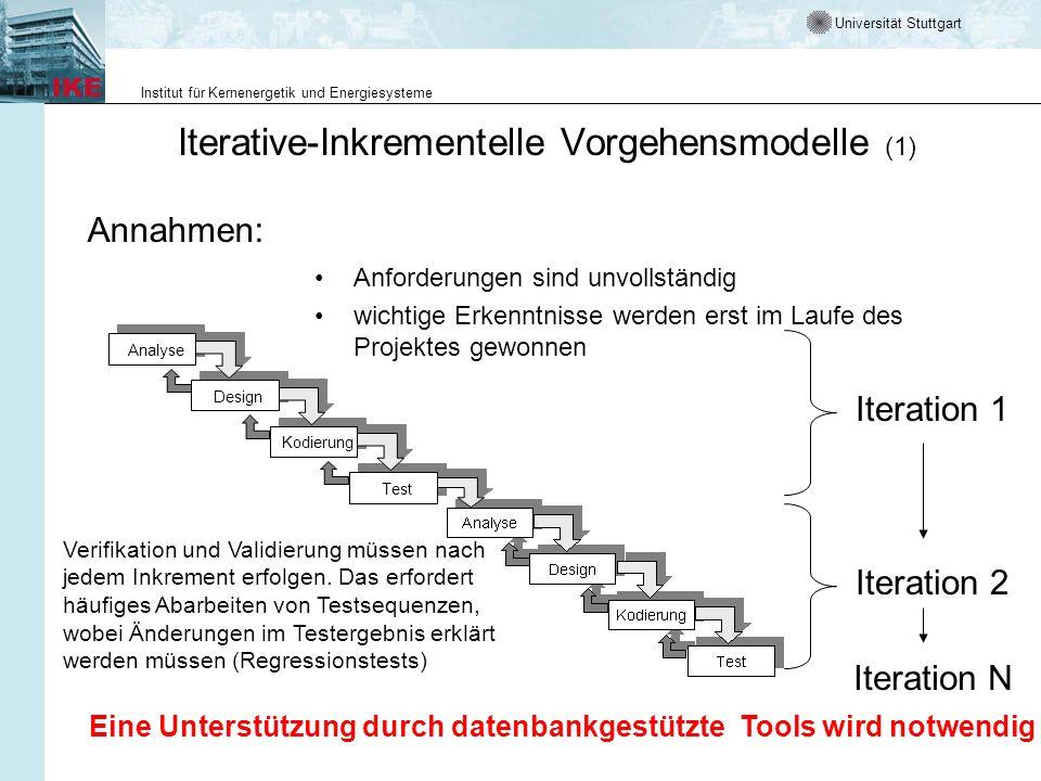 Iterative-Inkrementelle Vorgehensmodelle (1)