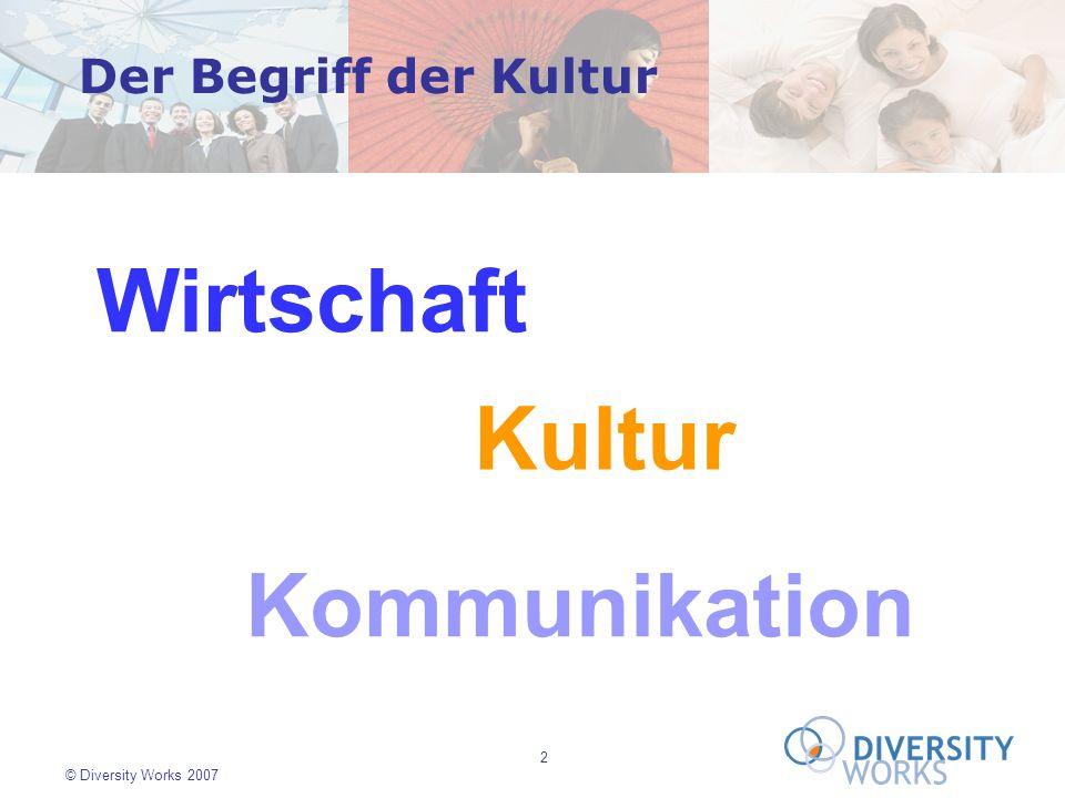Wirtschaft Kultur Kommunikation Der Begriff der Kultur