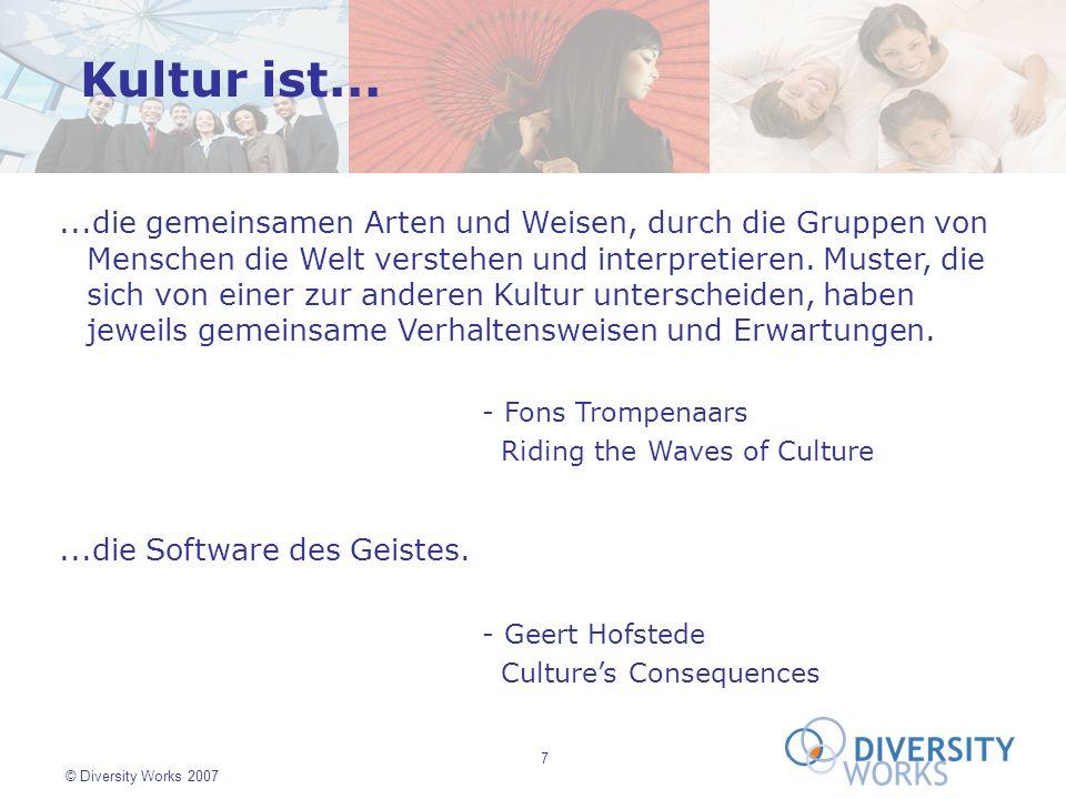 Kultur ist...