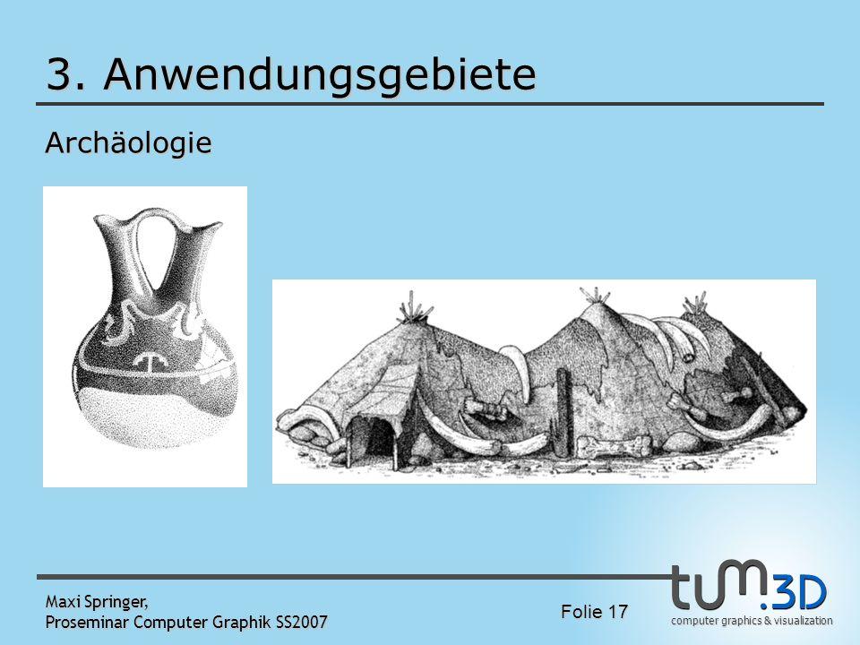 3. Anwendungsgebiete Archäologie Maxi Springer,