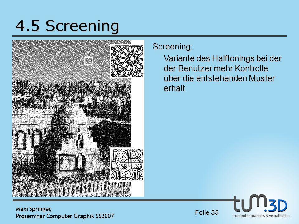 4.5 Screening Bild Screening: