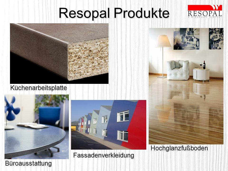 Resopal Produkte Küchenarbeitsplatte Hochglanzfußboden