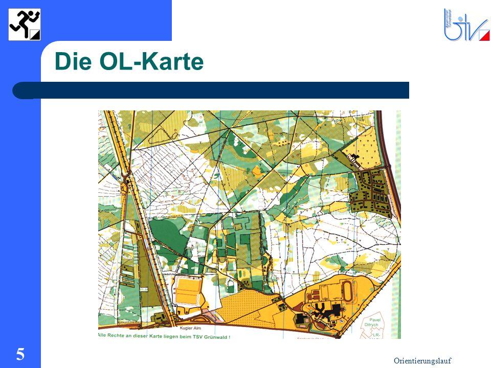 Die OL-Karte