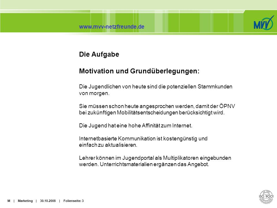 Motivation und Grundüberlegungen: