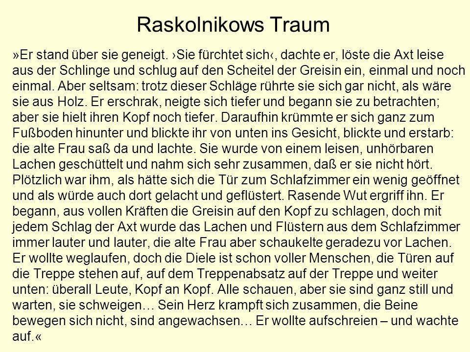 Raskolnikows Traum