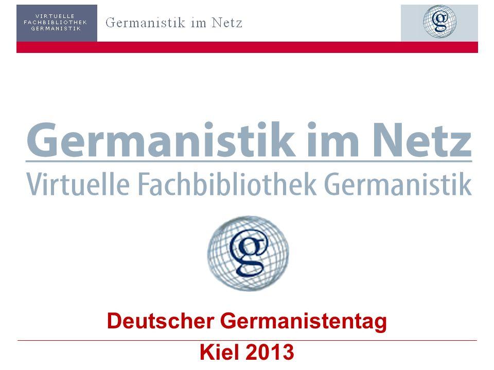 Deutscher Germanistentag Kiel 2013