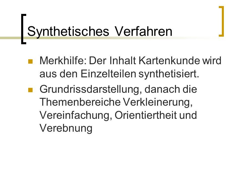 Synthetisches Verfahren