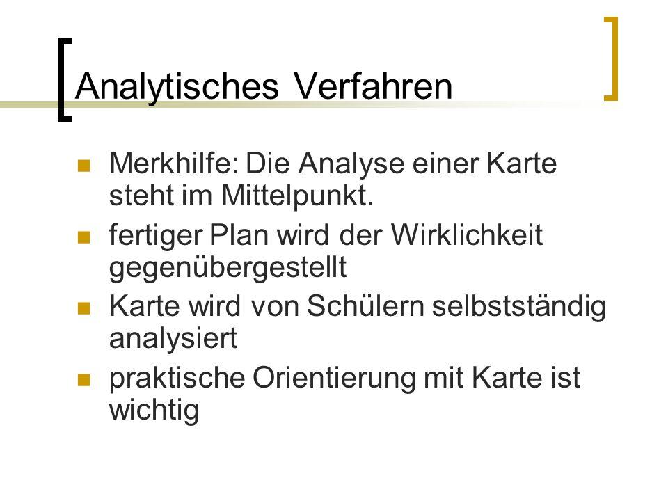 Analytisches Verfahren