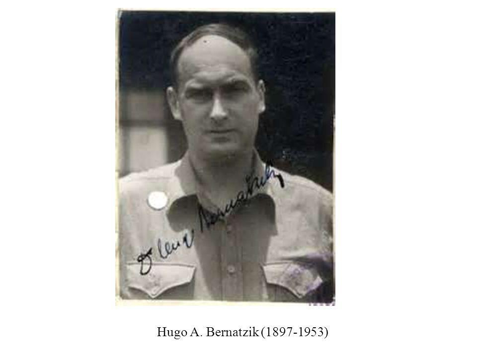 Hugo A. Bernatzik (1897-1953)