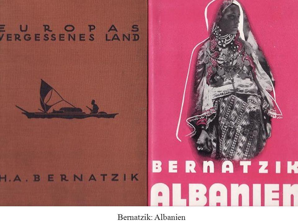 Bernatzik: Albanien