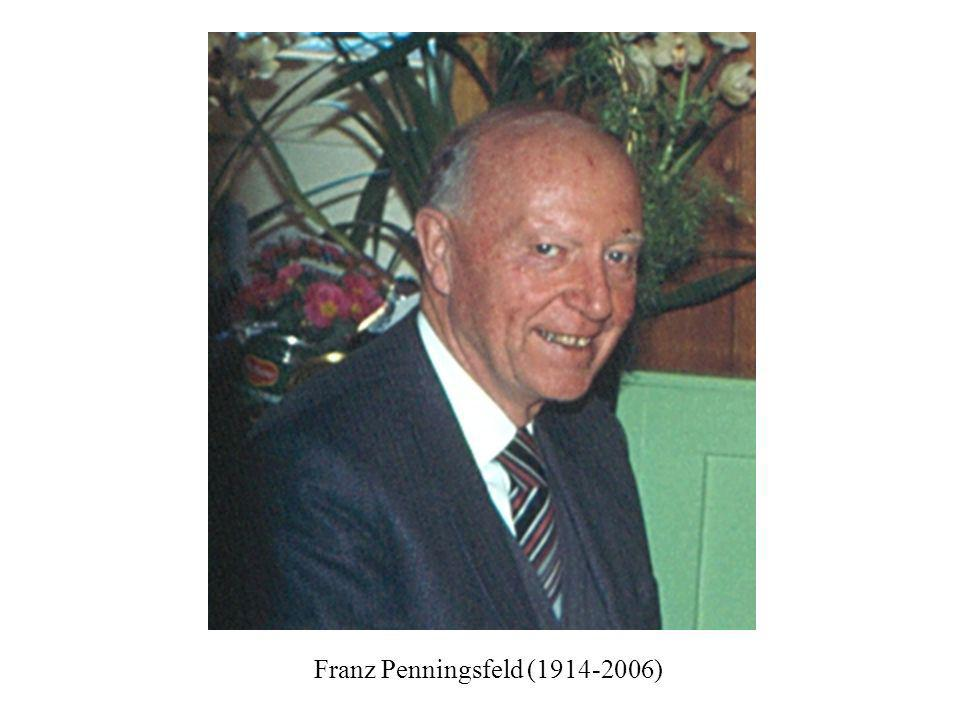 Franz Penningsfeld (1914-2006)