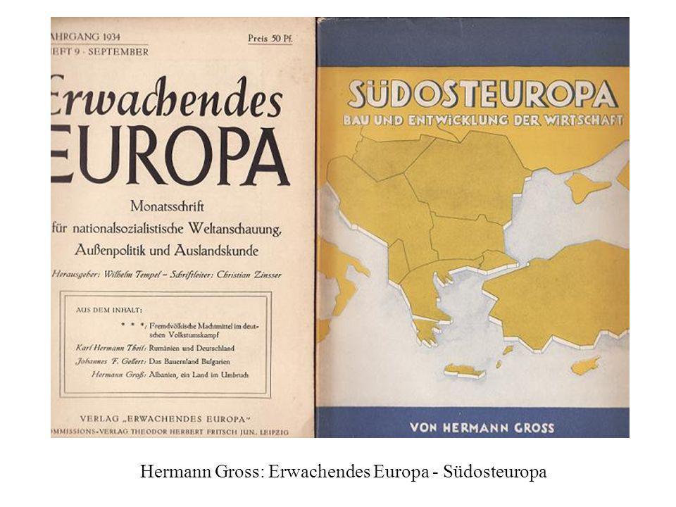 Hermann Gross: Erwachendes Europa - Südosteuropa
