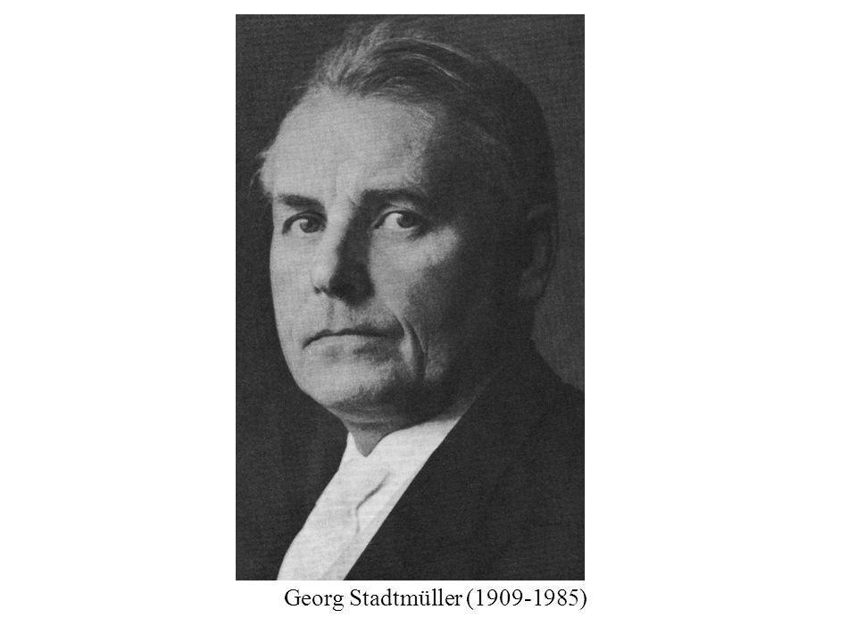 Georg Stadtmüller (1909-1985)