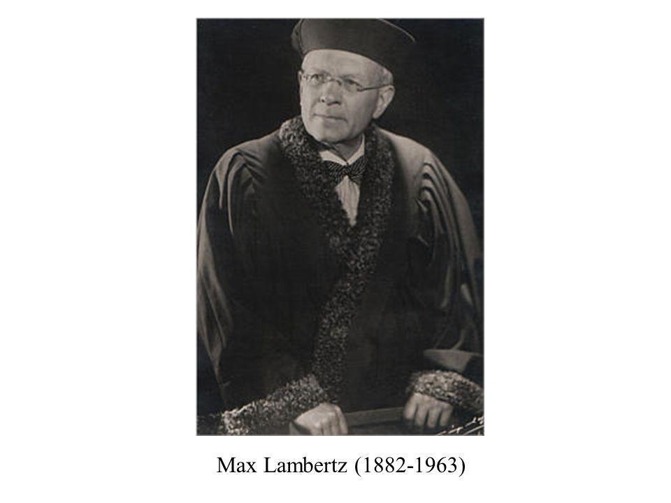 Max Lambertz (1882-1963)