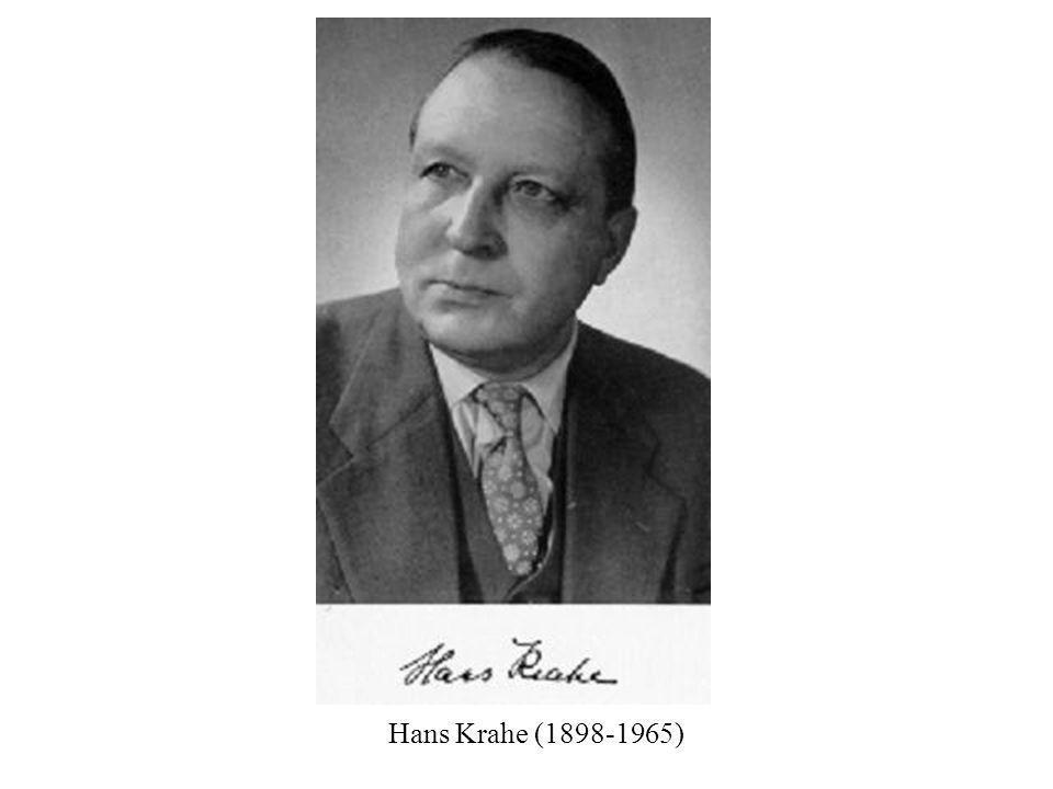 Hans Krahe (1898-1965)