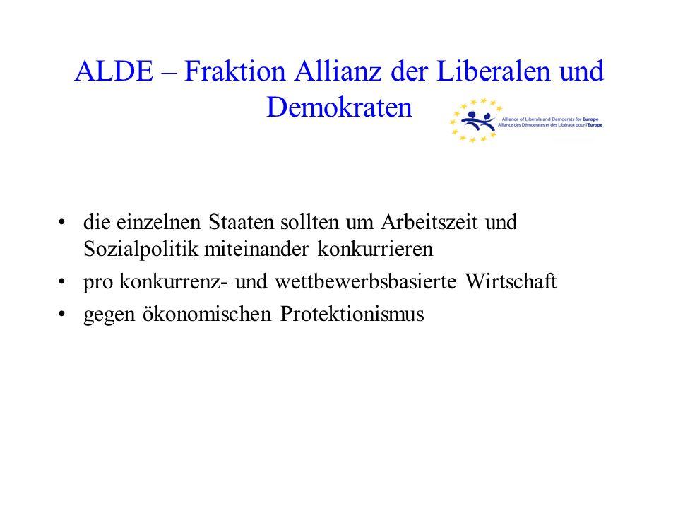 ALDE – Fraktion Allianz der Liberalen und Demokraten