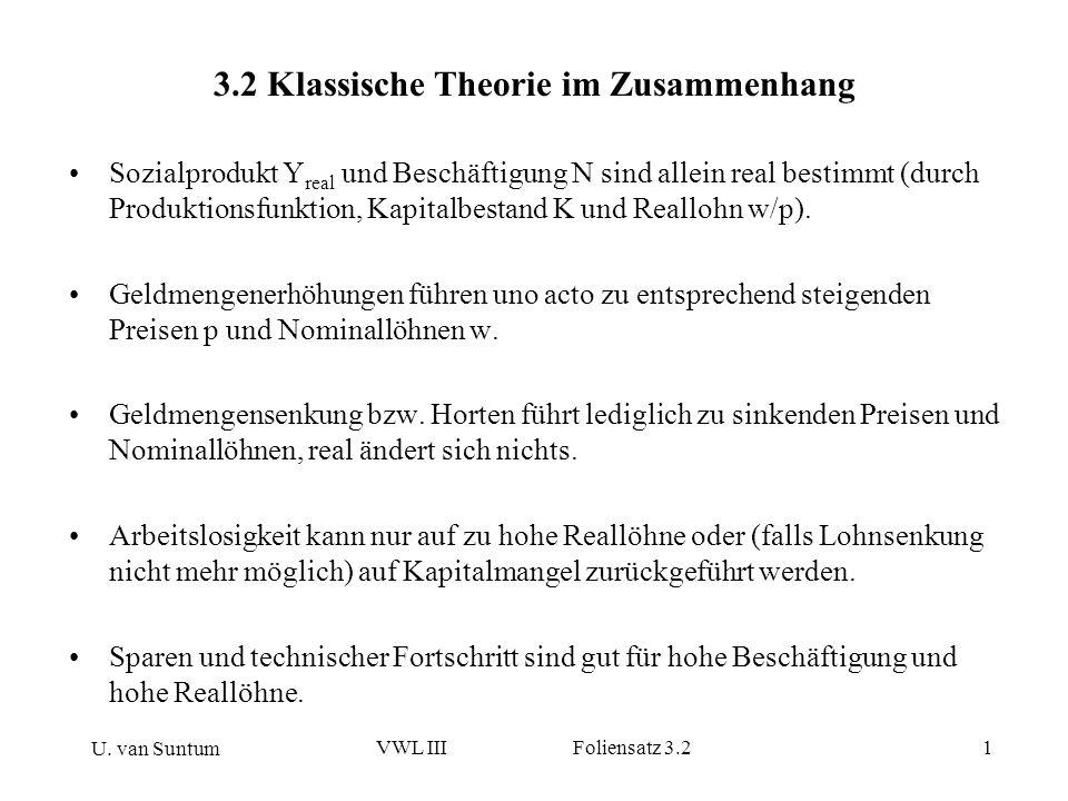 3.2 Klassische Theorie im Zusammenhang