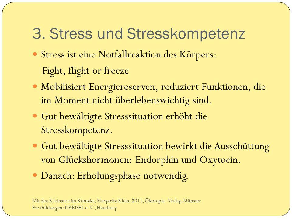 3. Stress und Stresskompetenz