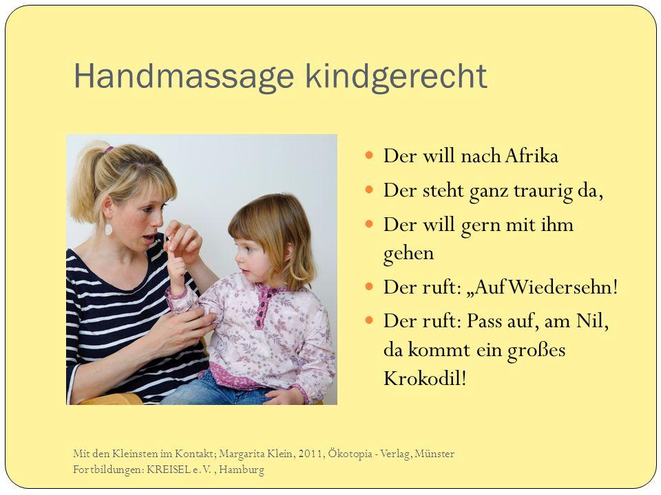 Handmassage kindgerecht