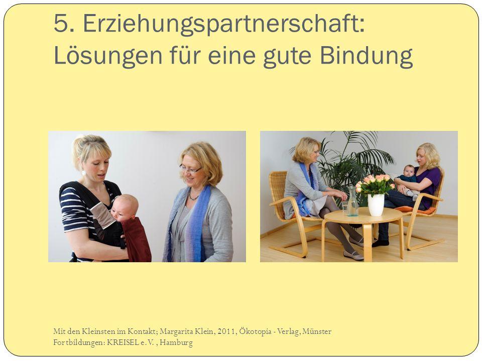 5. Erziehungspartnerschaft: Lösungen für eine gute Bindung