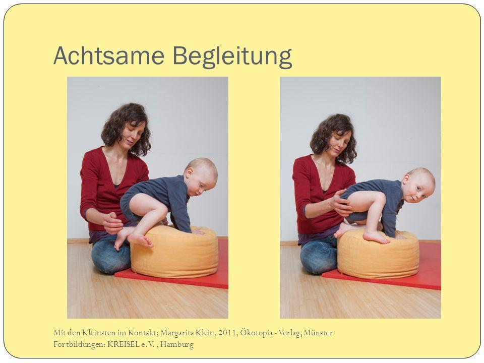 Achtsame Begleitung Nina+ Jonah. Mit den Kleinsten im Kontakt; Margarita Klein, 2011, Ökotopia - Verlag, Münster.