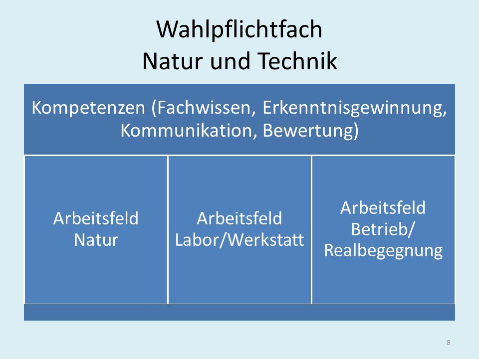 Wahlpflichtfach Natur und Technik