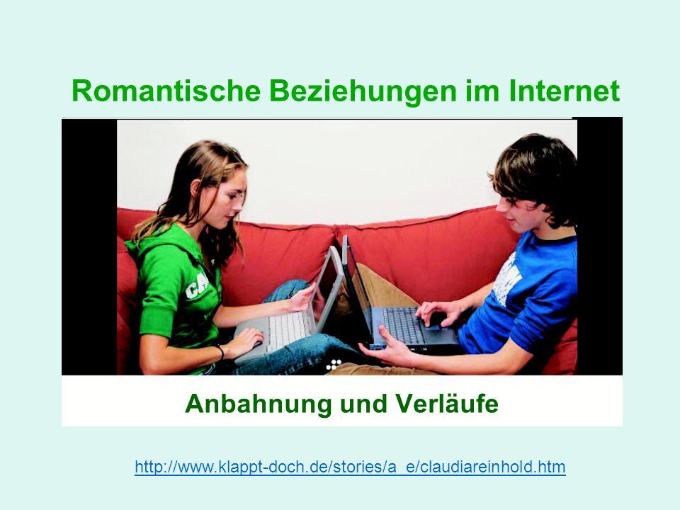 Romantische Beziehungen im Internet